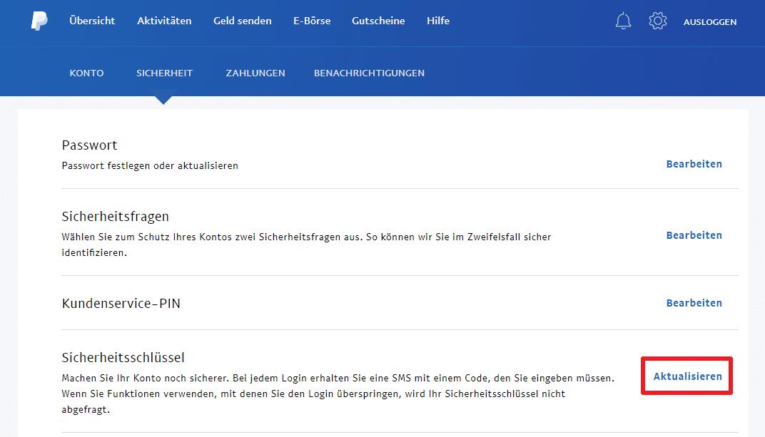 Paypal Bestätigung Per Sms